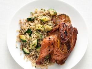 Mediterranean Cornish Hens -- The Food Network