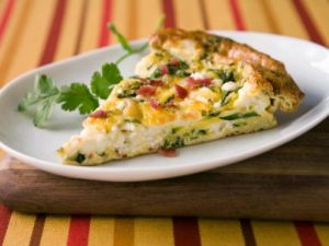 The Food Network: http://www.foodnetwork.com/recipes/food-network-kitchens/potato-and-zucchini-frittata-recipe.html