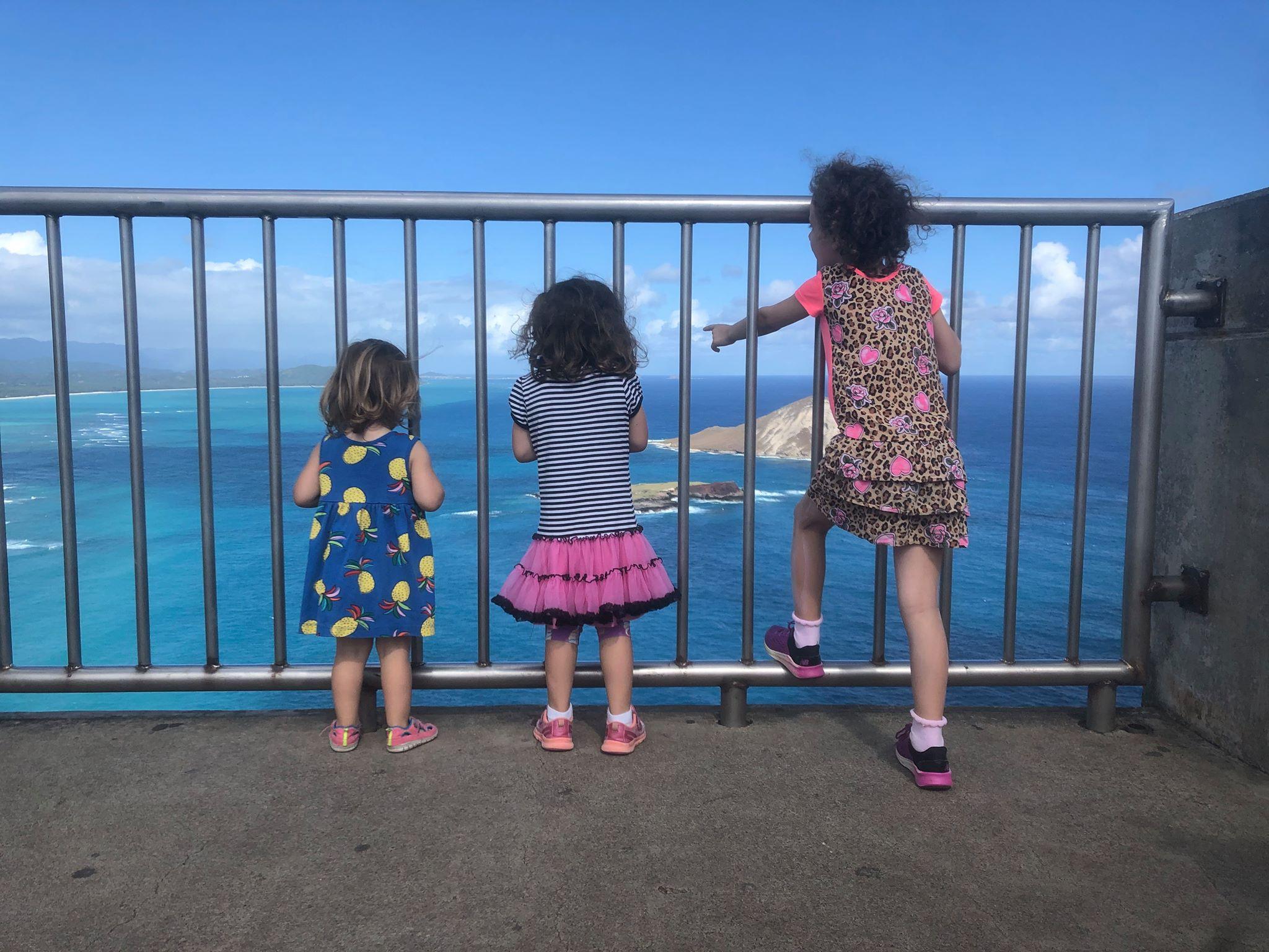 Hiking with Three