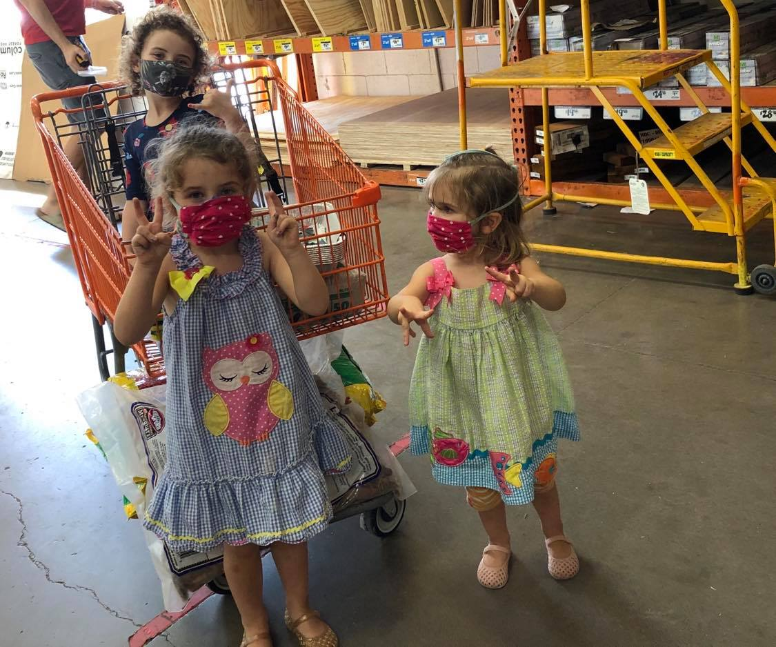 Our COVID trip to Home Depot